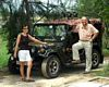Enjoying the life of local people in some handicraft villages by jeep