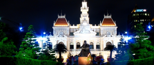 Ongoing dynamic and enchanting Ho Chi Minh City