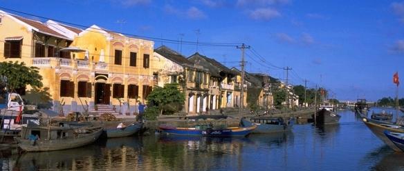 An ancient town of Hoi An